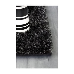 Koberec Flame Mixed Black, 140x200 cm