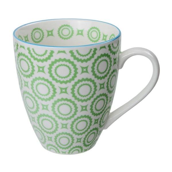 Porcelánový hrnček Orient Green, 8,7x9,8 cm