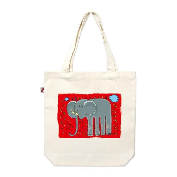 Plátenná taška Slon