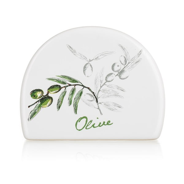 Keramický stojan na obrúsky Banquet Olives