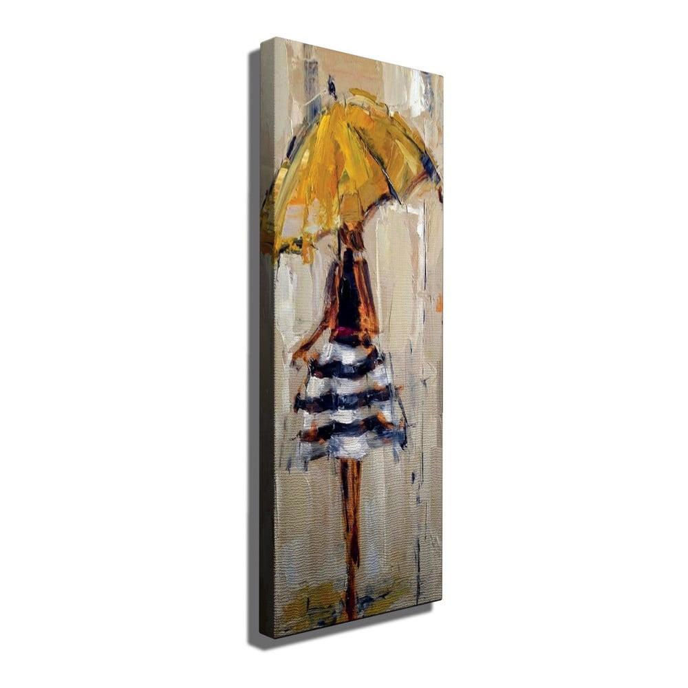 Obraz na plátne Josephine, 30 × 80 cm
