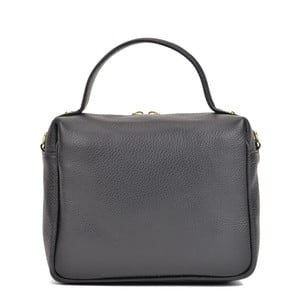 Čierna kožená kabelka Sofia Cardoni Alison