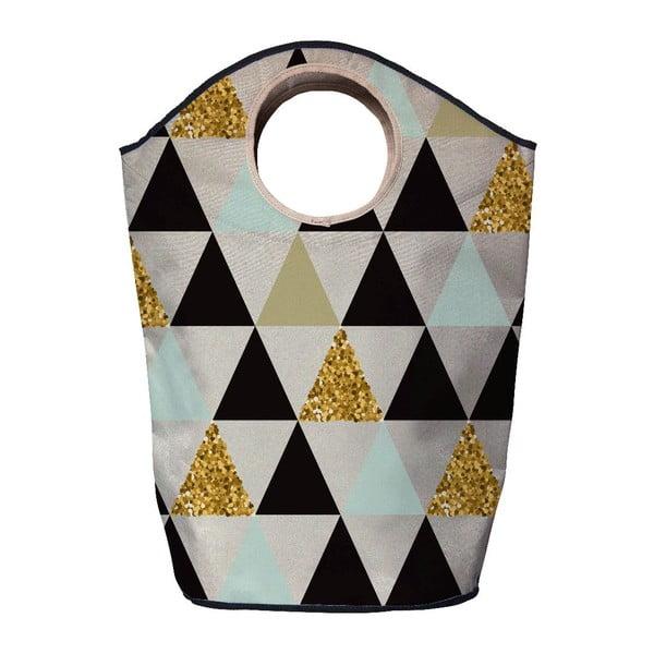 Kôš na bielizeň Butter Kings Gold Triangles