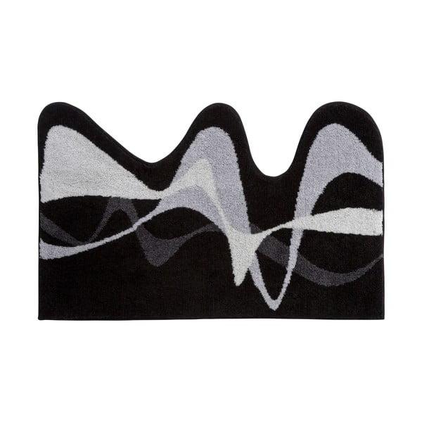 Kúpeľňová predložka Kolor My World XVIII 75x120 cm, šedá