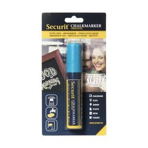 Modrá kriedová fixka na vodnej báze Securit® Liquid Passo