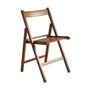 Drevená skladacia stolička Valdomo Milleusi Walnut