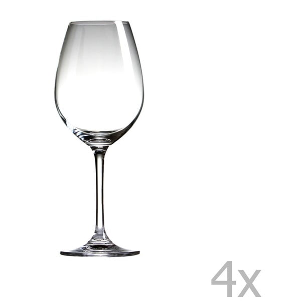 Sada 4 pohárov Sola Chianti, 520 ml