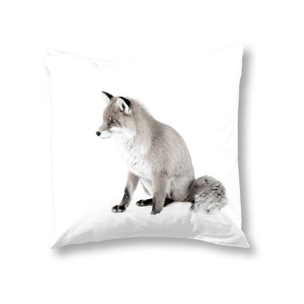 Obliečka na vankúš Muller Textiels Fox White, 50 x 50 cm