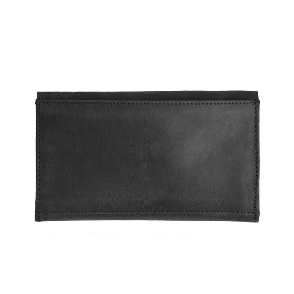 Kožená peňaženka O My Bag Pixies Pouch, čierna