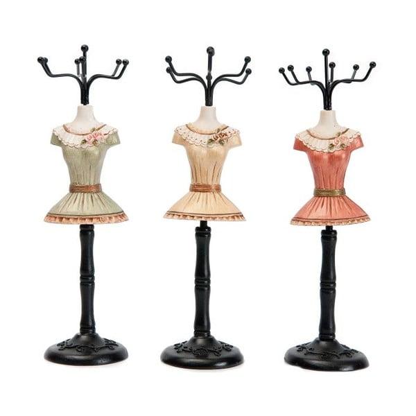 Sada 3 dekoratívnych figúrok Fashion