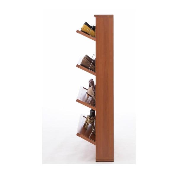 Hnedá veľká skrinka na topánky Arredamenti Italia Gioia