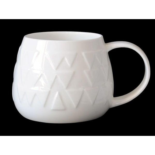Hrnček z kostného porcelánu Tulip Zig Zag
