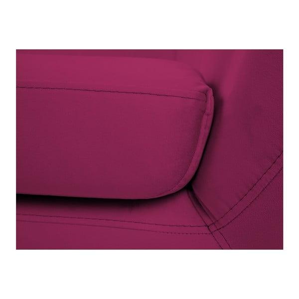 Ružová dvojmiestna pohovka Mazzini Sofas Benito