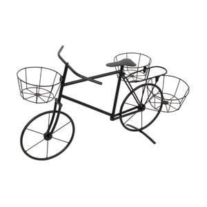 Kovový stojan na kvetináče InArt Bike, 60x40cm
