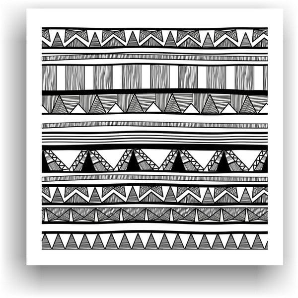 Obraz na vymaľovanie  Color It no. 13, 50x50 cm