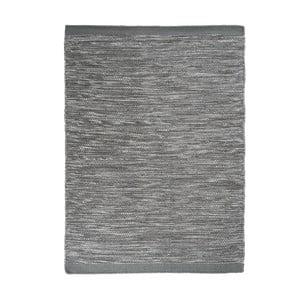 Vlnený koberec Asko, 140x200 cm, sivomodrý