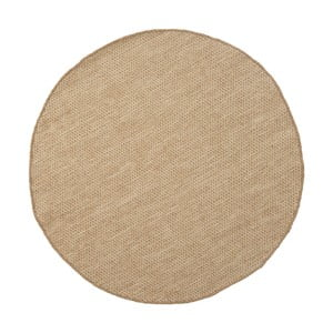Vlnený koberec Asko Light Beige, 90 cm