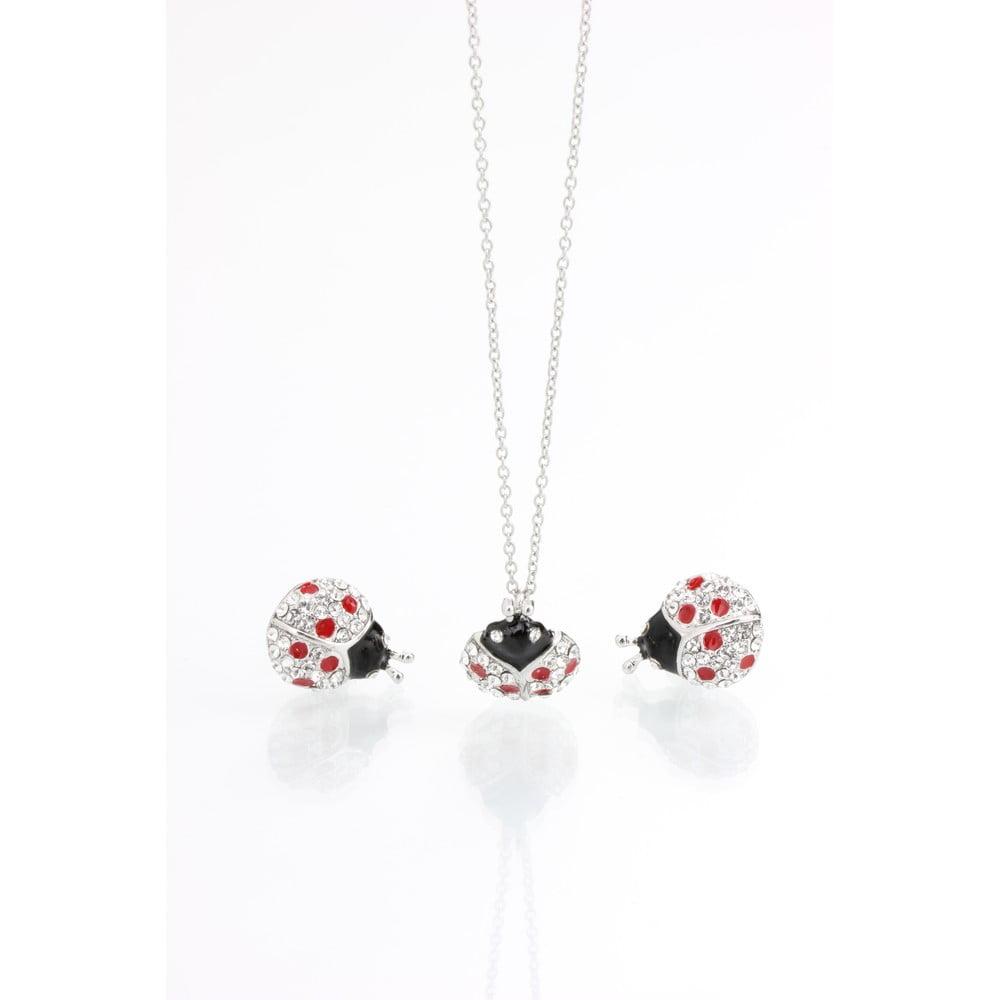 28d9a6b0b Set náhrdelníka a náušníc s krištáľmi Swarovski Elements Laura Bruni Dot