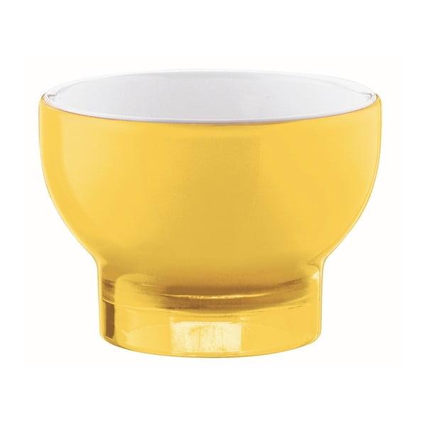 Žltá miska na zmrzlinu Fratelli Guzzini Vintage