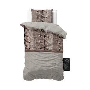 Obliečky z mikroperkálu Sleeptime Laces, 140 x 220 cm