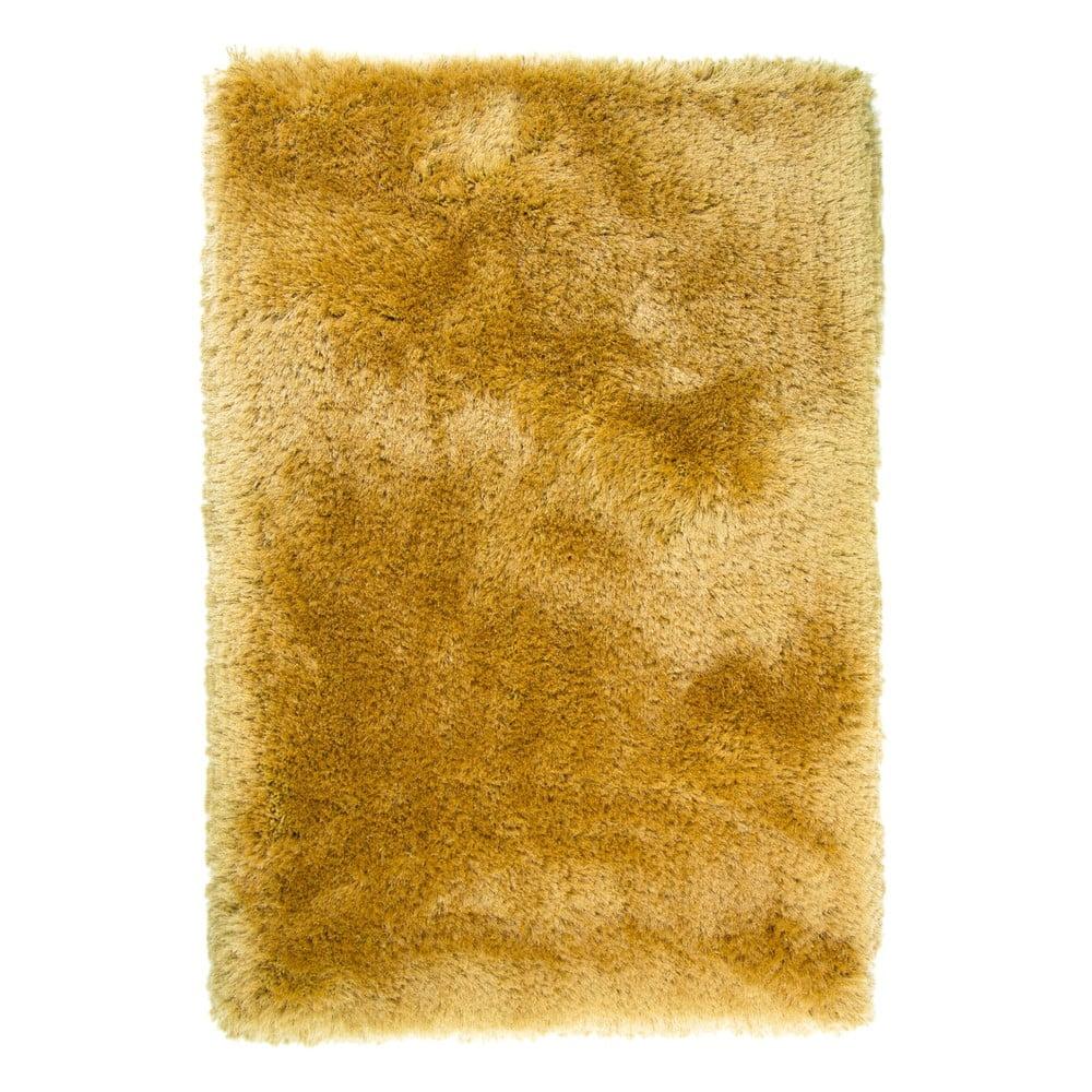 Horčicovožlý koberec Pearl 120 × 170 cm