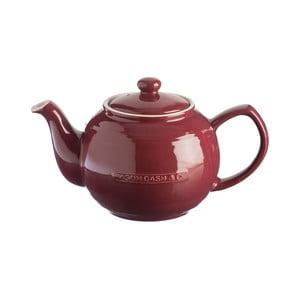 Slivkovofialová kameninová kanvica na čaj Mason Cash Original Collection, 1,2 l