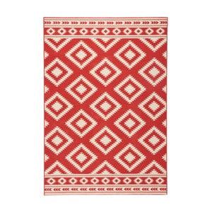 Červený koberec Hanse Home Gloria Ethno, 80 x 150 cm