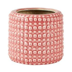 Ružový keramický kvetináč Villa Collection, ∅13,5cm