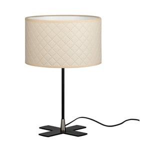 Krémová stolná lampa Bulb Attack Trece