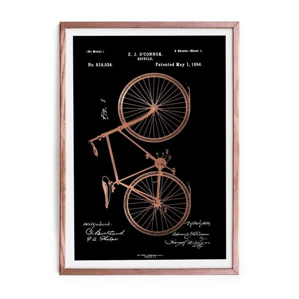 Obraz Really Nice Things Oconnor Bicycle, 40 x 60 cm