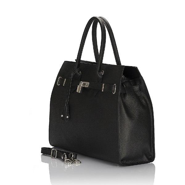 Kožená kabelka Giorgio Costa 15019 Black