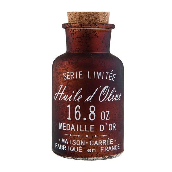 Sklenená fľaša Olive, 250 ml