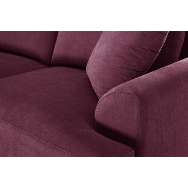 Dvojdielna sedacia súprava Jalouse Maison Irina, vínová