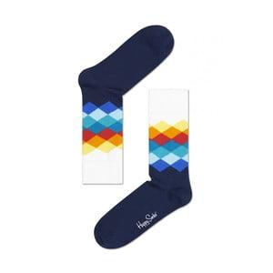 Ponožky Happy Socks Blue and White, veľ. 36-40