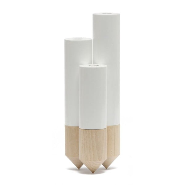 Váza Pik White