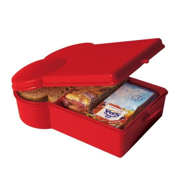 Desiatový box Toast, červený