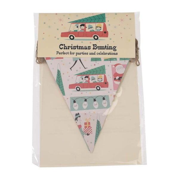 Vianočná papierová girlanda Rex London Festive Family