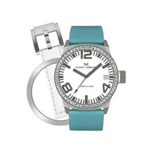 Dámske hodinky Marc Coblen s remienkom a ozdobou ciferníku naviac P2