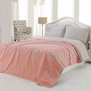 Sada prikrývky na posteľ a plachty US Polo Austin, 200x220 cm