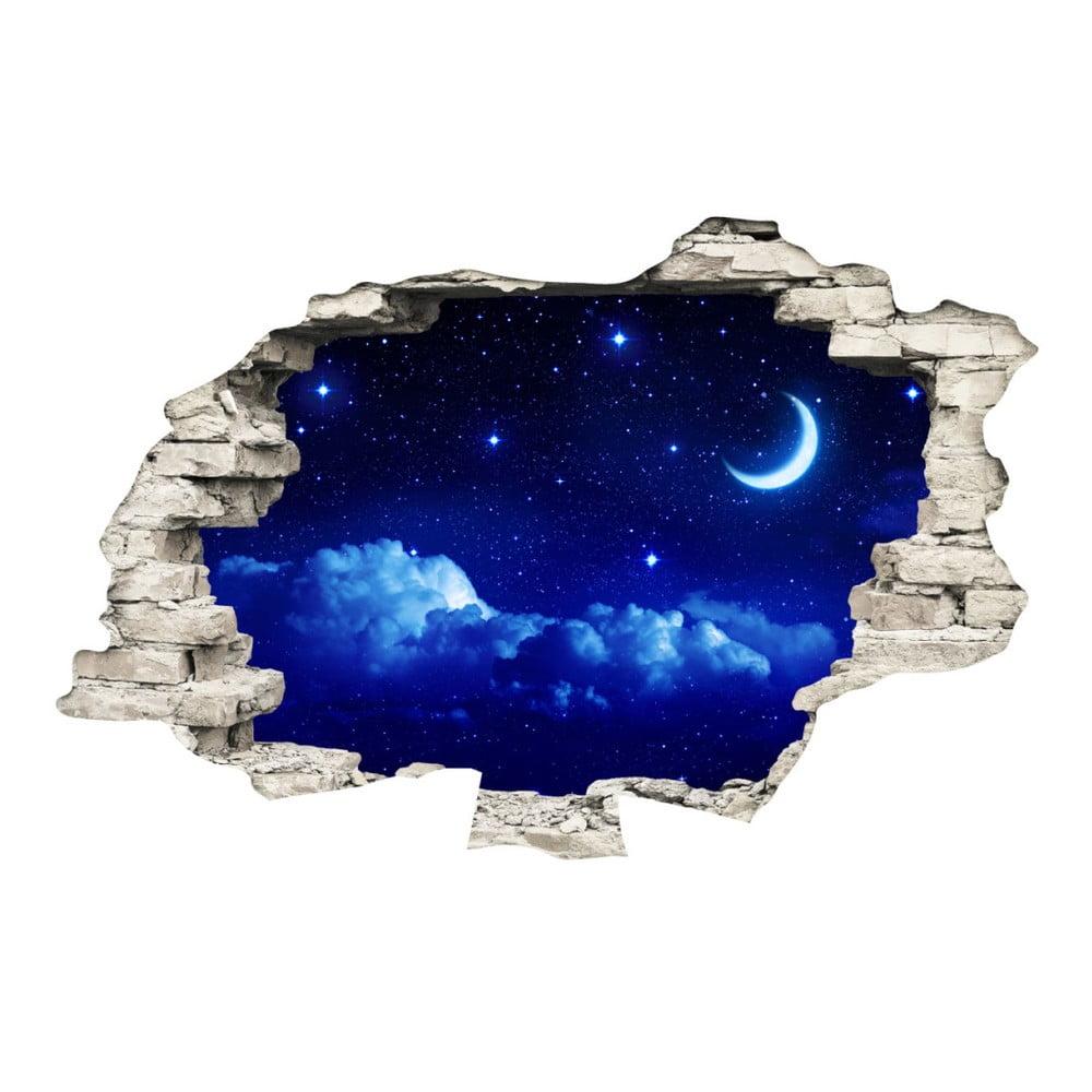 Samolepka Ambiance Moonlight, 60 × 90 cm