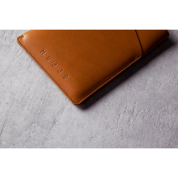 Obal Mujjo Slim Fit na iPad mini Tan