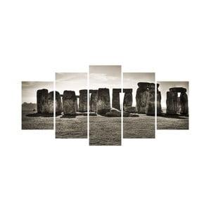 Viacdielny obraz Black&White no. 13, 100x50 cm