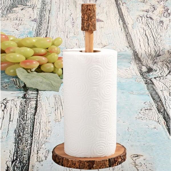 Drevený stojan na kuchynské utierky Acacia