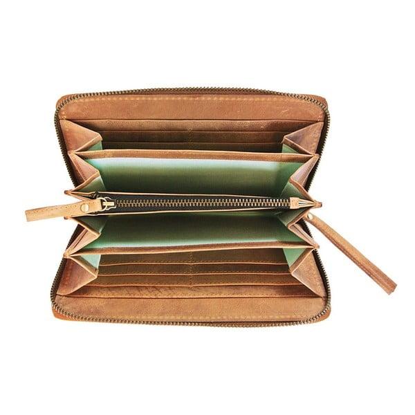 Kožená peňaženka Miss Moneypenny, ťavia