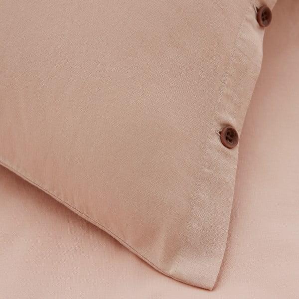 Obliečky Marc O'Polo Washed, 155x220 cm, pudrové