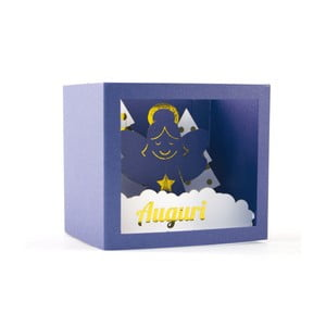 3D pohľadnica W-Lamp Angel