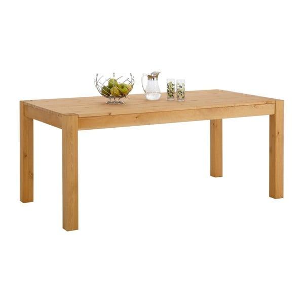 Jedálenský stôl z masívneho borovicového dreva Støraa Monique, 75×240cm