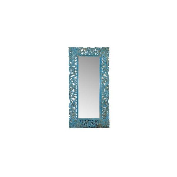 Zrkadlo Orient 60x120 cm, tmavo modré