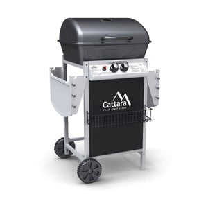 Pojazdný plynový záhradný grill Cattara Party Point Flame Tamer