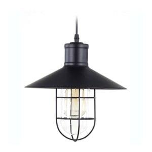 Industriálne kovové světlo In Black